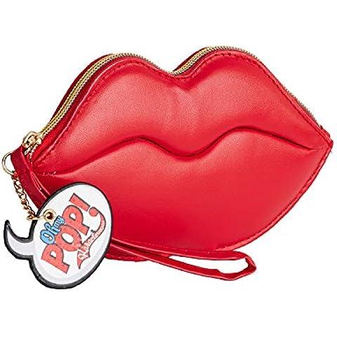 BILLETERO LIP RED KISS OH MY POP