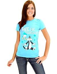 Looney Tunes We Be Clubbin' Sylvester And Tweety Junior blau T-Shirt