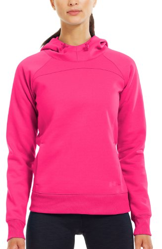 UNDER ARMOUR Damen ColdGear Semi Fitted INFRARED Storm Hoody Pinkadelic 813 - S (Jacke Fitted Semi)