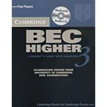 Cambridge BEC Higher 3 Self Study Pack (BEC Practice Tests)