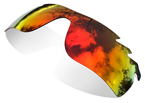 Sunglasses Restorer Ersatzgläer für Oakley Radar Path Vented (Polarisierte Ruby Red Linsen)