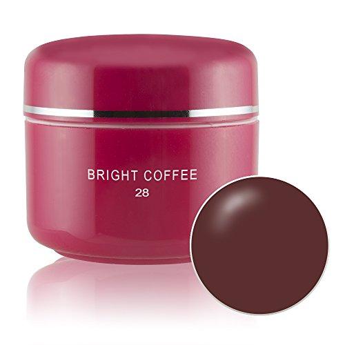 Sun Garden Nails - Gel UV de couleur Bright Coffee 028