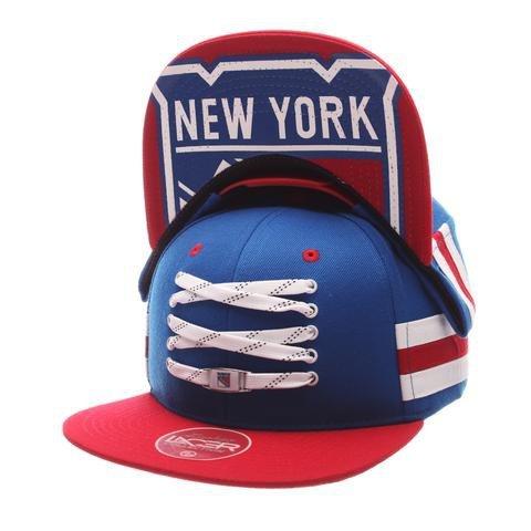 Zephyr Lacer Locker Timeles Cap, NHL Teams:New York Rangers, Größe:OSFA