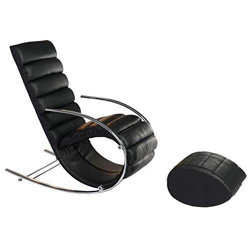 ACZZ Liegestuhl Lounge Chair, Easy Chair Schaukelstuhl Sofa Lounge Chair Schlafstuhl Schaukelstuhl Fashion Balkon Schaukelstuhl 60X60X105Cm - Easy Lounge Chair