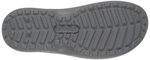 Crocs Clssctropicsld, Chaussons Mules Mixte Adulte Gris (Smoke)