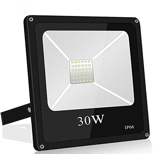 Roleadro Focos Led Exterior 30W Impermeable IP66 Floodlights SMD3030 Proyector LED para...