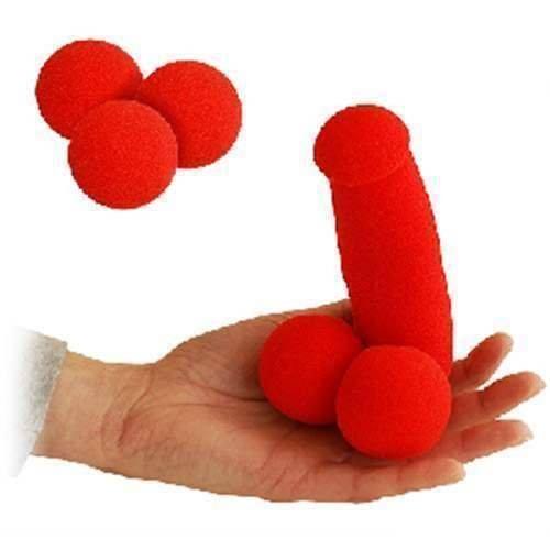 Sexy Surprise - Ding Dong - Magie mit Bällen und Luftballons - Zaubertricks und props (Bälle Magic Sponge)