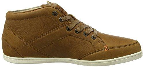 Hub Kingston Mid Original, Sneaker a Collo Alto Uomo Braun (Cognac/Off White)