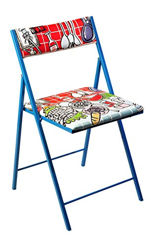 BEAT COLLECTION Click - Silla Plegable para salón, 46 x 43 x...