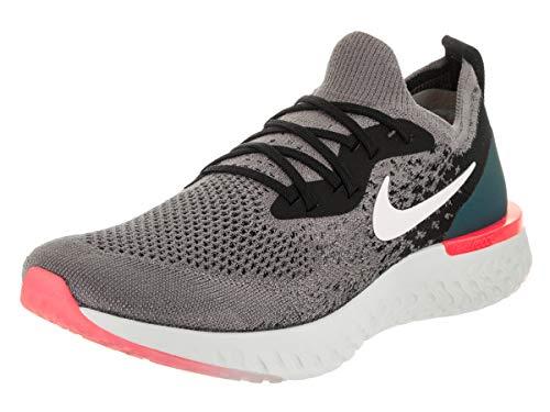 the best attitude 9b8ab 5c268 Nike Herren Epic React Flyknit Fitnessschuhe, Mehrfarbig (Gunsmoke White  Black Geode