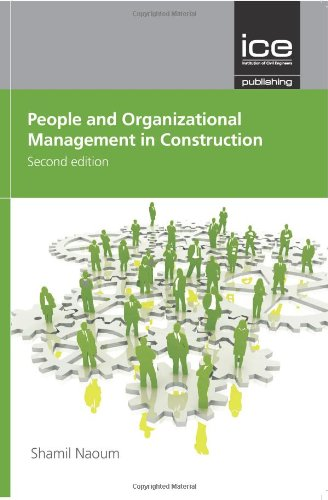 People and Organisational Management in Construction (Water and Coast Engineering)