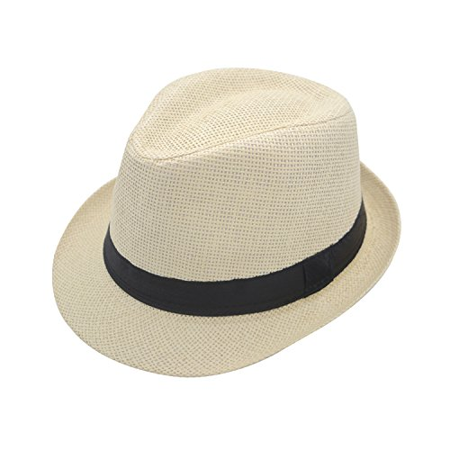JEDAGX Panama Style Summer Beach Sun Jazz Cap Unisex Adulto Sun Hat Color  s¨® fb7c4a8adca