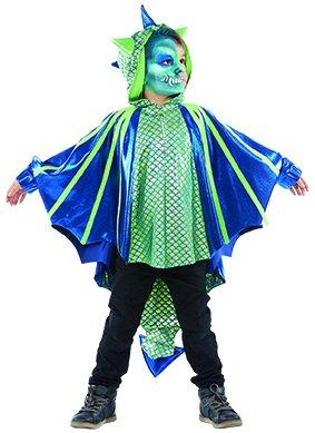 Drachenkind Kinder Kostüm Mädchen Junge Ungeheuer Drache
