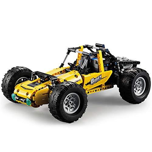 Yyz 522pcs Fernbedienung Technic Serie RC Racing Car Buggy Modell All-Terrain Off-Road Climbing Vehicle LKW Building Blocks Toys