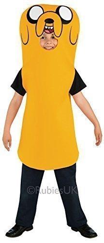chliche oder Jake Der Hund Adventure Time TV Zeichentrickserie Fest Kostüm Kleid Outfit 3 - 10 Jahre - Jake, 3-4 Years (Finn Aus Adventure Time Kostüme)