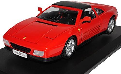 Ferrari 348 TS Targa Coupe Rot 1989-1995 1/18 Bburago Modell Auto   La Qualité Des Produits
