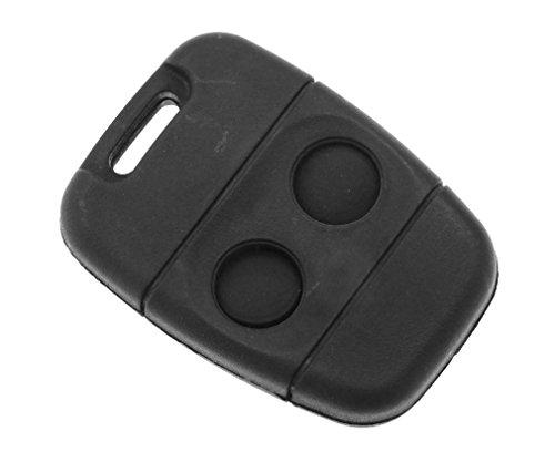 Preisvergleich Produktbild Ersatz-Gehäuse für Schlüsselanhänger-Fernbedienung mit 2 Knöpfen,  für Land Rover Defender