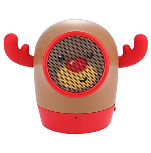 Bluetooth Altavoz muñeca Dibujos Animados Reproductor de música MP3 Externo Audio portátil...