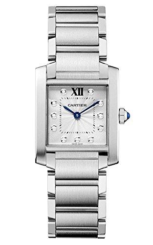 Cartier Tank Francaise Damen-Armbanduhr