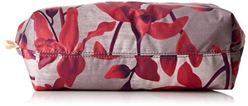Oilily Ruffles Cosmeticpouch Lhz 2 - Pochette da giorno Donna, Rot (Dark Red), 11x18.5x25.5 cm (B x H T) Rosso (Dark Red)