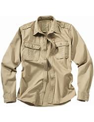 Surplus Homme chemise à manches longues Raw Vintage Checkered