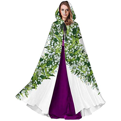 Imagen de black sky zorzal lilly of the valley png graphics flor capa para mujer capa capa con capucha para navidad disfraces de halloween cosplay alternativa