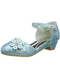 0bd668a9d93 ELSA   ANNA® Última Diseño Niñas Princesa Reina de Nieve Jalea Partido Zapatos  Zapatos de