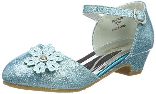 ELSA & ANNA® Gute Qualität Mädchen Schuhe Prinzessin Schnee Königin Gelee Partei Schuhe Sandalen (Euro 27 - Insole Length 18.0cm, - Kostüm Partei Sinn