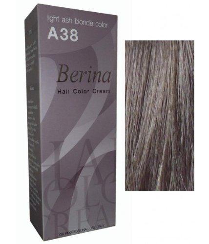 Haarfarbe Ash Blonde (Permanente Haarfarbe Haar Haare Haarfaerbung Intensivtoenung Berina Hell Ash Grau Blond)