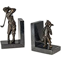 Buchstütze Äskulap Symbol Arzt Bronze massiv 16 cm bookend