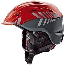 Carrera Makani 2.13 Mountain - Casco de esquí, color rojo y gris mate Red Anthracite Matte Talla:51-55 cm