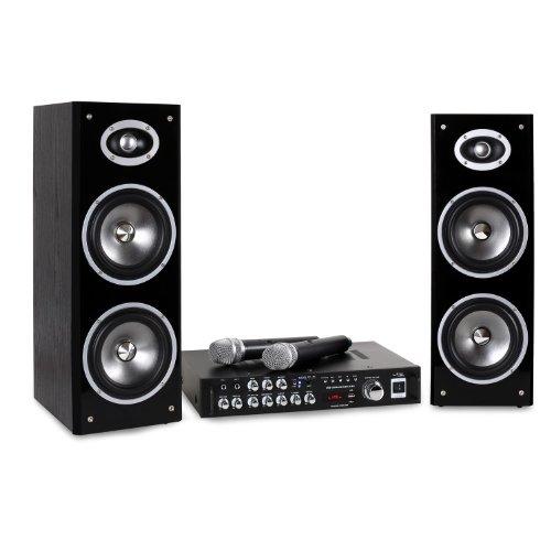 LTC Karaoke-Star3-WM Set Karaoke Bluetooth USB BT MIC