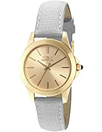 Invicta Angel Women's Wrist Watch Stainless Steel Quartz Gold Dial - 15149