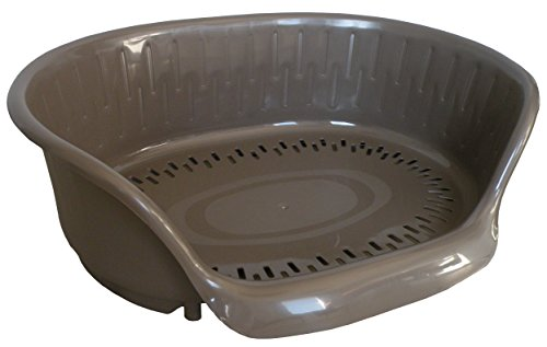 hundeinfo24.de Aime Hundekorb, Kunststoff, 78 x 56 x 26cm