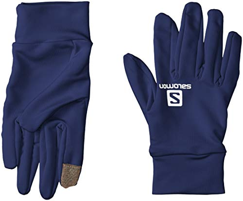 Salomon Agile Warm Glove U, Unisex Adulto, Medieval Blue, XS