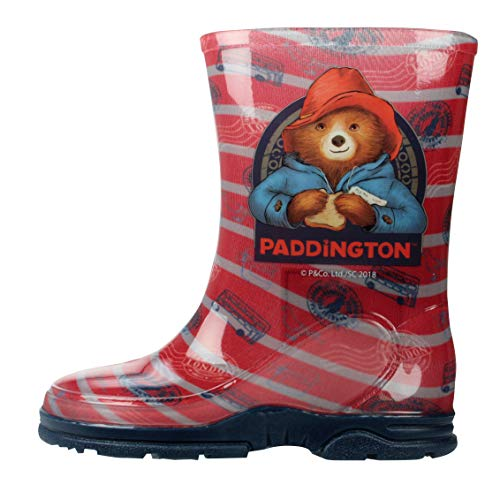 Paddington Bear Wellingtons Boys Mid Calf UK Sizes 5-12