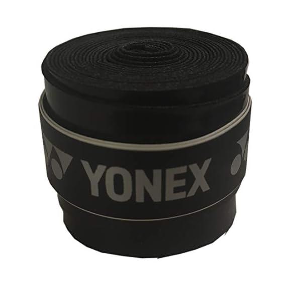 Yonex Super GRAP AC 102Ex Rubber Badminton Grip (Black) Badminton Grip