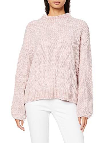 Marchio Amazon find. Chenille Bubble Sleeve Pullover Donna