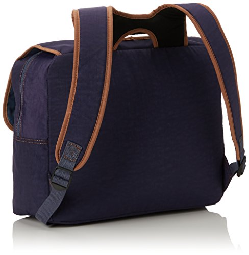 Kipling Iniko Sac à dos enfants, 40 cm, 18 liters, Bleu (Blue Tan Block)