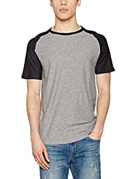 JACK & JONES Camiseta Hombre Verde 12134696 JCOFRIDAY Tee SS Crew Neck Dusty Olive/Slim