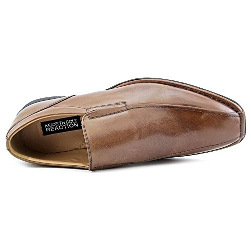 Kenneth Cole Reaction Party Punch Cuir Mocassin Whiskey