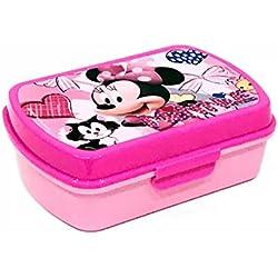 Kids MI18001 - Disney Minnie Portapranzo, Portamerenda, Pvc, Bambina, Rosa