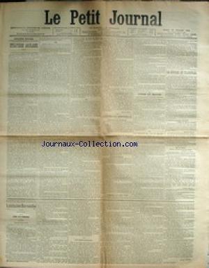 PETIT JOURNAL (LE) [No 13563] du 13/02/1900 - STRA...