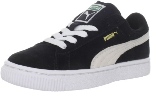 Puma Suede Black White Toddlers Trainers Toddlers 5 UK
