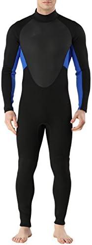 Sidiou Group Tuta da Sub 3mm Muta Muta Muta da Uomo Muta Integrale Tuta bagnata a Prova di Frossodo Costume da Bagno Skin per Nuoto Immersioni subacquee (2, M)B07B8JMYQ5Parent | Up-to-date Styling  | Bello e affascinante  | Outlet Store Online  5589a8