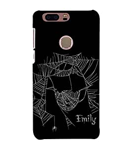 For Huawei Honor 8 The lost spider, spider Printed Cell Phone Cases, web Mobile Phone Cases ( Cell Phone Accessories ), pain Designer Art Pouch Pouches Covers, sorrow Customized Cases & Covers, scary Smart Phone Covers , Phone Back Case Covers By Cover Dunia