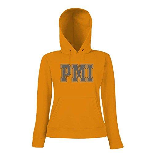 PMI Premium Hoody | Airport-Hoody | Mallorca | Reisen | Frauen | Kapuzenpullover © Shirt Happenz Orange