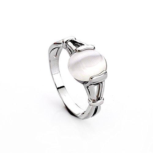 lureme® Mode Legierung Twilight Saga Bella Natürlich Cateye Stein Women's Ring-O (04001479-2)