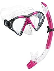 Phantom Aquatics Cancun Mask Snorkeling Combo Snorkel Set