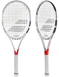 Babolat Pure Strike Team Unstrung Raquetas de Tenis, Hombre, Blanco / Rojo, 2
